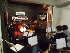masterclass di chitarra acustica Fingerstyle alla MA Roma