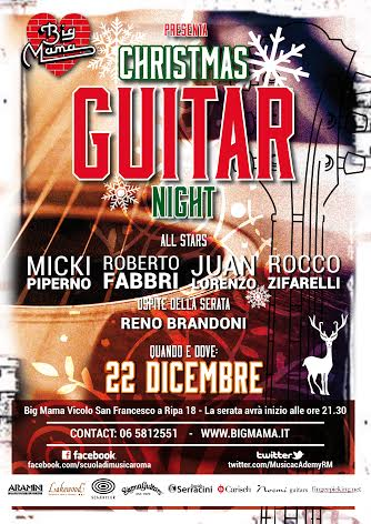 CHRISTMAS GUITAR NIGHT