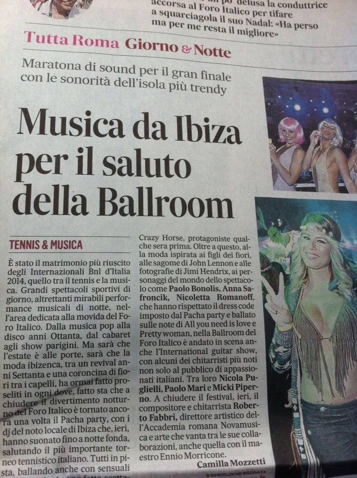 Messaggero di Roma e International Guitar Show