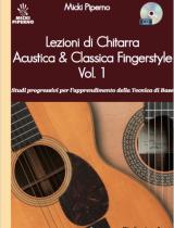 Lezioni di Chitarra Acustica & Classica Fingerstyle – Vol. 1