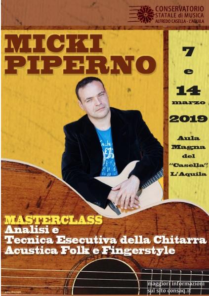 Micki Piperno_Conservatorio_Aquila